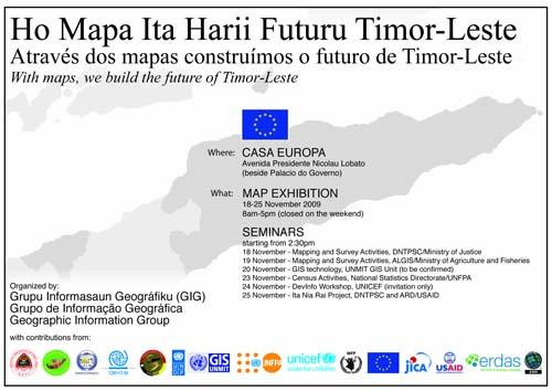 Ho Mapa, Ita Harii Futuru Timor-Leste(#GISDay)