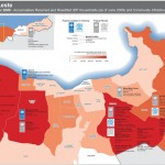 IDP Households and Projects Map