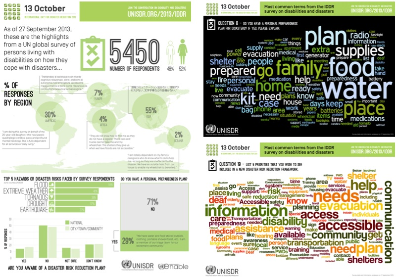 Behind the scenes on the 2013 IDDR infographics